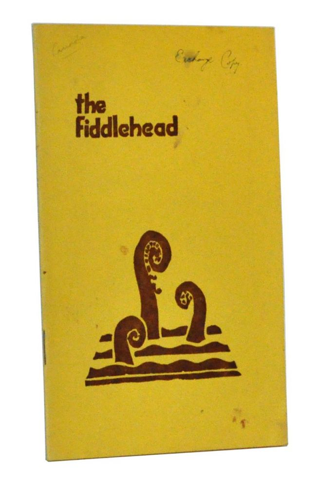 The Fiddlehead, Number 22 (November, 1954). A. G. Bailey.