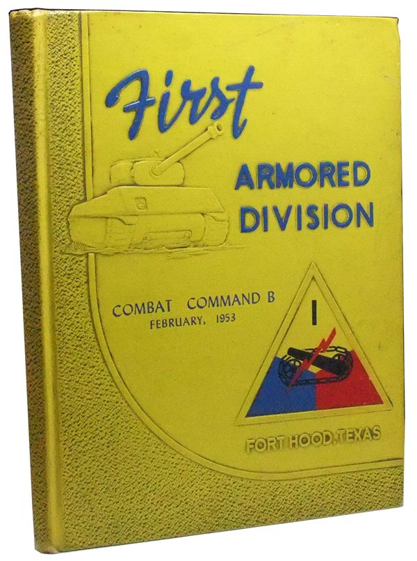 """Fort Hood, Texas. Home of Combat Command """"B,"""" First Armored Division. February 1953. John Blain."""