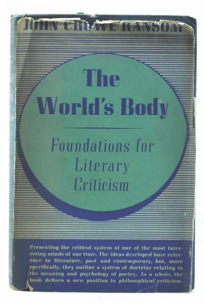 The World's Body. John Crowe Ransome.