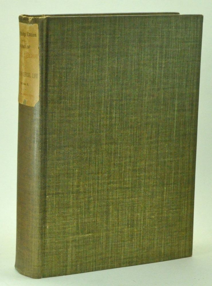 Scenes of Clerical Life; Essays and Leaves from a Notebook, in two volumes. Holly Lodge Edition. George Eliot, Mary Ann Evans.