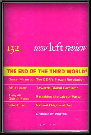New Left Review, No. 132 (March-April 1982). The End of the Third World? Perry Anderson.