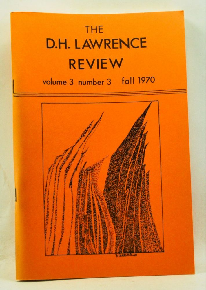 The D. H. Lawrence Review, Volume 3, Number 3 (Fall 1970). D. H. Lawrence's Reading. James C. Cowan.