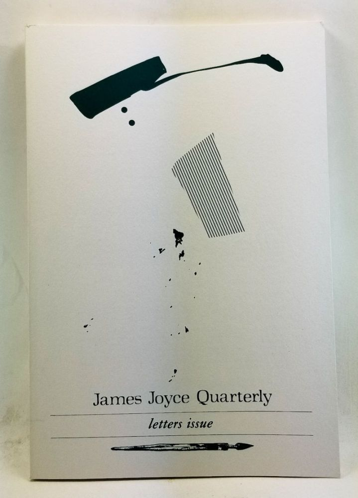 James Joyce Quarterly, Volume 19, Number 4 (Summer 1982). Letters Issue. Thomas F. Staley, Mary Reynolds, Wilhelm Füger, Duncan Mallam, Shari Benstock, Richard F. Peterson, Alan M. Cohn.