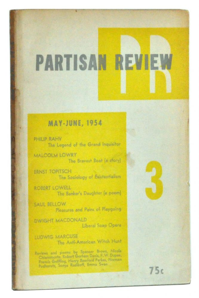 The Partisan Review, Volume XXI, Number 3 (May-June, 1954).