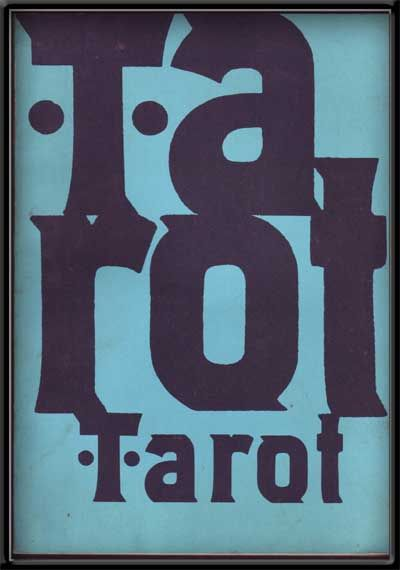 Tarot: a Magazine of the Arts Published by Students of Michigan State University; Volume Two, Number One. Walter Lockwood, Robert Elliott, James Cash, Frederick Shepard, Art Ed.