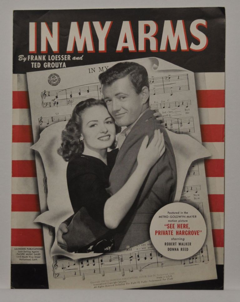 In My Arms (sheet music). Frank Loesser, Ted Grouya.