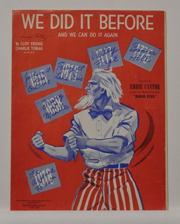 We Did It Before and We Can Do It Again (sheet music). Cliff Friend, Charlie Tobias.