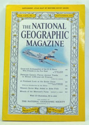 The National Geographic Magazine, Volume 116 Number 3 (September 1959). Melville Bell Grosvenor,...