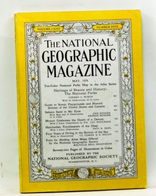 The National Geographic Magazine, Volume CXIII, Number Five (May, 1958). Melville Bell Grosvenor,...
