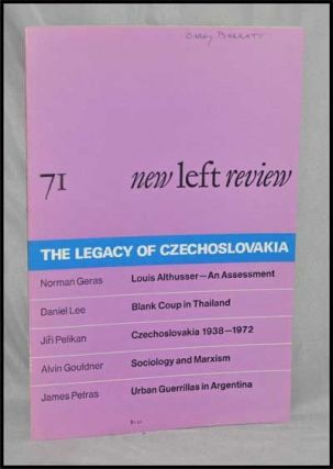 New Left Review, 71 (January-February 1972) : the Legacy of Czechoslovakia. Perry Anderson,...