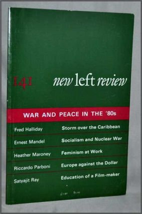 New Left Review, 141 (September-October 1983) : War and Peace in the '80s. Perry Anderson, Fred...