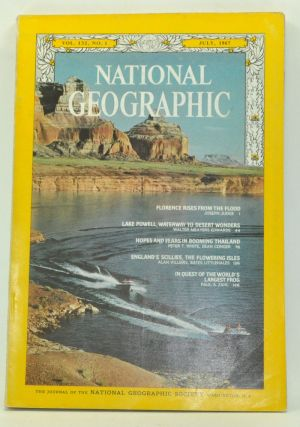 The National Geographic Magazine, Volume 132, Number 1 (July 1967). Melville Bell Grosvenor, Joseph Judge, Walter Meayers Edwards, Dean Conger, Peter T. White, Alan Villiers, Bates Littlehales, Paul A. Zahl.