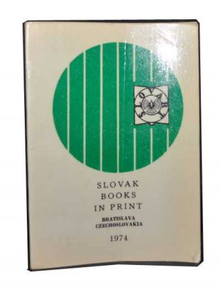 Slovak Books in Print. Slovart Foreign Trade Company