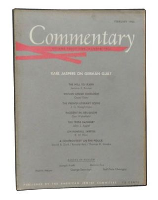 Commentary: Vol. 41, No. 2 (February 1966). Norman Podhoretz, Karl Jaspers, Jerome S. Bruner,...