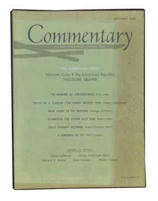 Commentary: Vol. 43, No. 1 (January 1967). Norman Podhoretz, Theodore Draper, Erich Isaac, Robert...