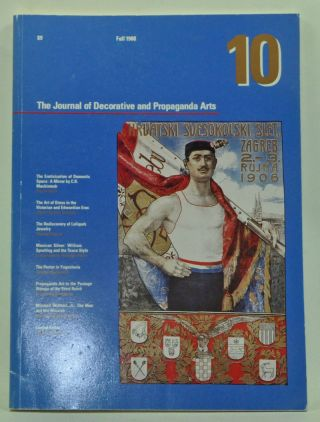The Journal of Decorative and Propaganda Arts 1875-1945 10 (Fall 1988). Pamela Johnson, David...