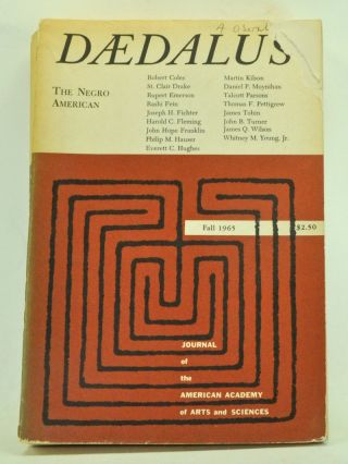 Daedalus: Journal of the American Academy of Arts and Sciences, Fall 1965 (Volume 94, Number 4)....