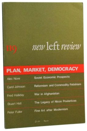 New Left Review Number 119 (January-February 1980). Plan, Market, Democracy. Perry Anderson, Alec...