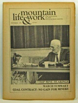 Mountain Life & Work, Volume 47, Number 11 (November 1971). Rick Diehl, Mike Clark, Frank Adams