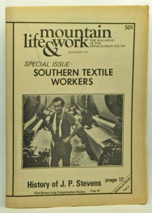 Mountain Life & Work, Volume 54, Number 8 (September 1978). Debbie Edwards