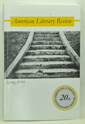 American Literary Review, Volume 21, Number 1 (Spring 2010). John Tait.