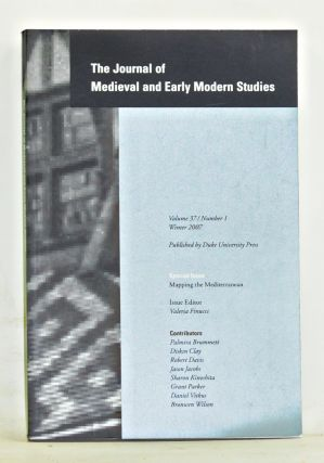 The Journal of Medieval and Early Modern Studies, Volume 37, Number 1 (Winter 2007). Special...