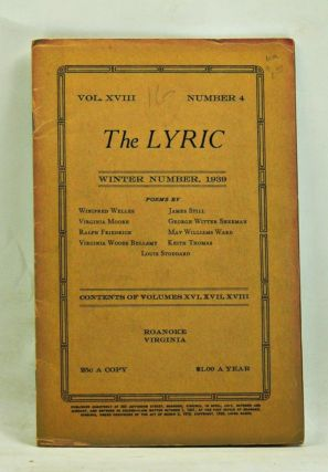 The Lyric, Volume 18, Number 4 (Winter, 1939). Leigh Hanes