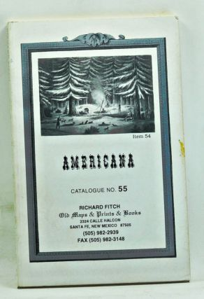 Americana, Catalogue 55. Dottie and Dick Fitch