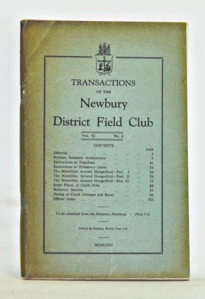 Transactions of the Newbury District Field Club, Volume 9, Number 2. Newbury District Field Club