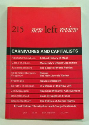New Left Review Number 215 (January-February 1996). Carnivores and Capitalists. Robin Blackburn,...
