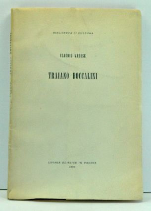 Triaiano Boccalini (Italian language edition). Claudio Varese.