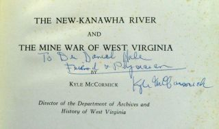 The New-Kanawha River and the Mine War of West Virginia