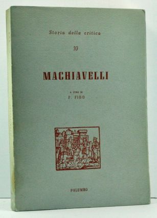 Machiavelli (Italian language edition). Franco Fido.
