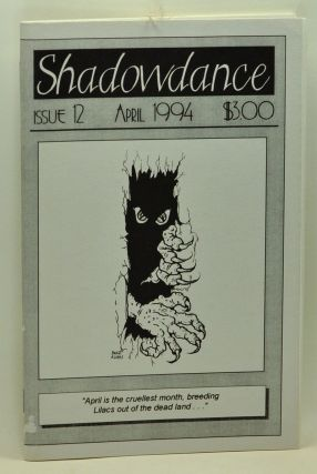 Shadowdance, Issue 12 (April 1994). Michelle Belanger.