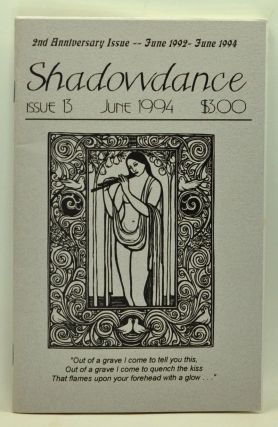 Shadowdance, Issue 13 (June 1994). Michelle Belanger.