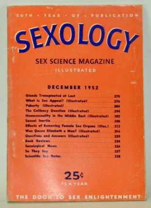 Sexology: Sex Science Magazine. An Authoritative Guide to Sex Education. Volume 19, No. 5...