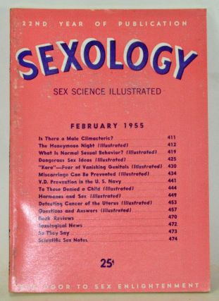 Sexology: Sex Science Magazine. An Authoritative Guide to Sex Education. Volume 21, No. 7...