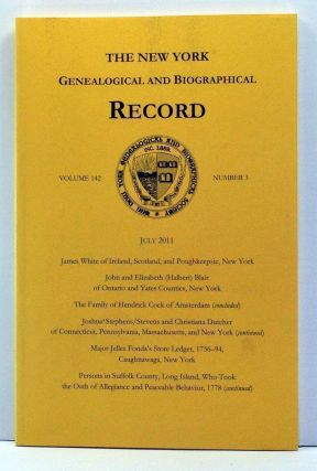 The New York Genealogical and Biographical Record, Volume 142, Number 3 (July 2011). Laura Murphy...