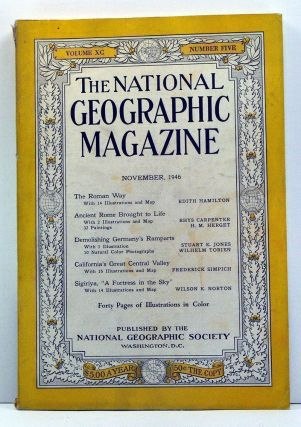 The National Geographic Magazine, Volume 90, Number 5 (November, 1946). Gilbert Grosvenor, Edith...