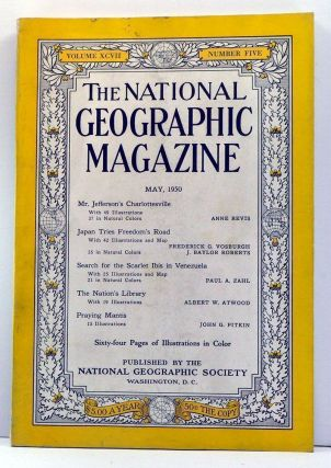 The National Geographic Magazine, Volume 97, Number 5 (May, 1950). Gilbert Grosvenor, Anne Revis, Frederick G. Vosburgh, J. Baylor Roberts, Paul A. Zahl, Albert W. Atwood, John G. Pitkin.