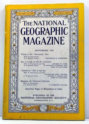 The National Geographic Magazine, Volume 98, Number 3 (September, 1950). Gilbert Grosvenor,...