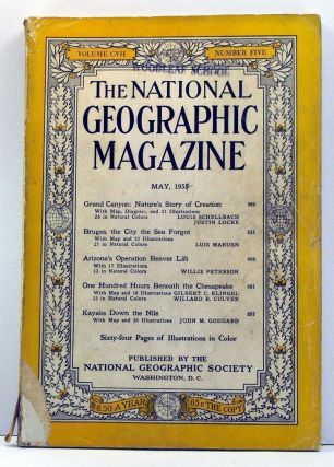 National Geographic Magazine, Volume 107, Number 5 (May, 1955). Gilbert Grosvenor, Louis...