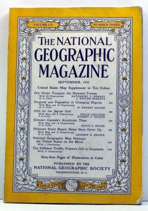 National Geographic Magazine, Volume 110, Number 3 (September, 1956). Gilbert Grosvenor,...