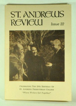 St. Andrews Review: A Twice-Yearly Magazine of the Arts and Humanities. Issue No. 22 (1981). Jack...