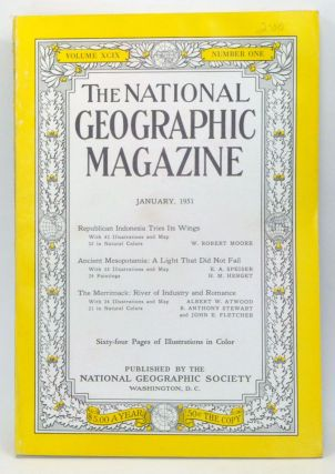 The National Geographic Magazine, Volume 99, Number 1 (January 1951). Gilbert Grosvenor, W....