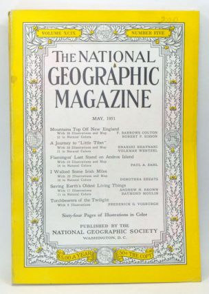 The National Geographic Magazine, Volume 99, Number 5 (May 1951). Gilbert Grosvenor, F. Barrows Colton, Robert F. Sisson, Enakshi Bhavnani, Volkmar Wentzel, Paul A. Zahl, Dorothea Sheats, Andrew H. Brown, Raymond Moulin, Frederick G. Vosburgh.