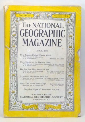 The National Geographic Magazine, Volume 101, Number 4 (April 1952). Gilbert Grosvenor, Howell...