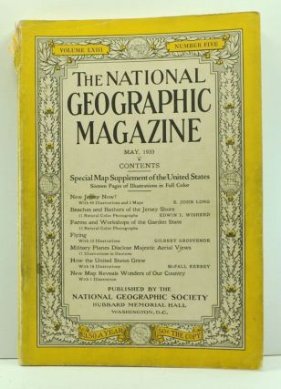 The National Geographic Magazine, Volume 63, Number 5 (May 1933). Gilbert Grosvenor, E. John Long, Edwin L. Wisherd, McFall Kerbey.