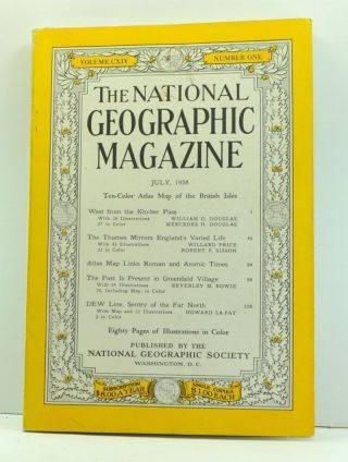 The National Geographic Magazine, Volume 114, Number 1 (July 1958). Melville Bell Grosvenor,...