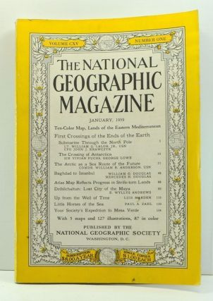 The National Geographic Magazine, Volume 115, Number 1 (January, 1959). Melville Bell Grosvenor,...